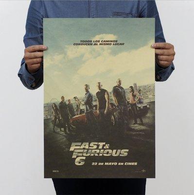 現貨 當日出貨 玩命關頭(The Fast and the Furious) 牛皮紙海報 復仇者聯盟 喬喜屋