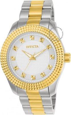 展示品 Invicta 22791 Specialty Quartz Stainless Steel Bracelet Two Tone Womens