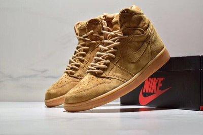 Nike Air Jordan 1 Retro High OG 小麥色555088 -710 尺码:36-45