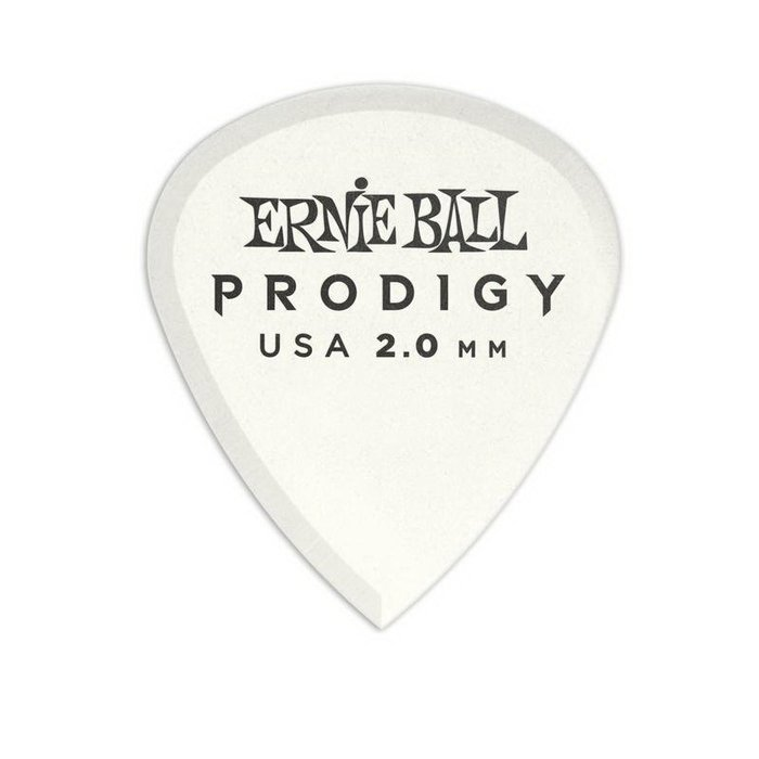 ☆唐尼樂器︵☆ Ernie Ball 9203 Prodigy Mini 2.00mm 白色 吉他彈片 Pick