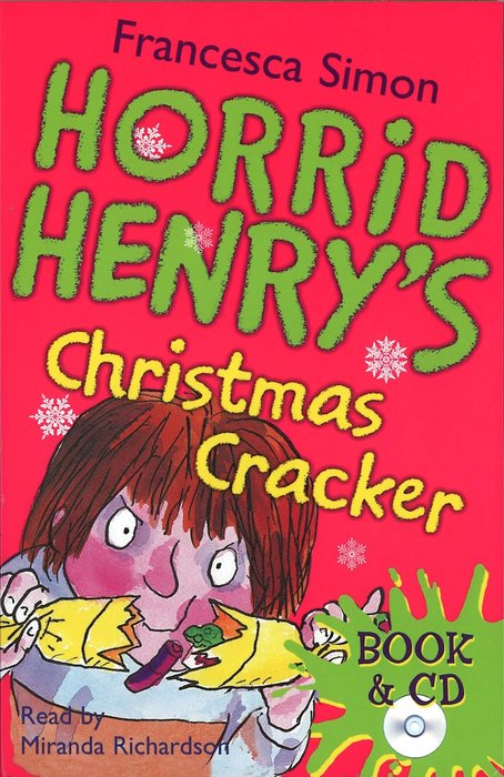 *小貝比的家*HORRID HENRY'S CHRISTMAS CRACKER /平裝書+CD/7~12歲