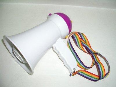 小潮批發【128】迷你大聲公 旅行 拍賣 廣播 上課 抗議用  手持喊話器 擴音器 折疊式 小型小支 大聲公 攜帶方便