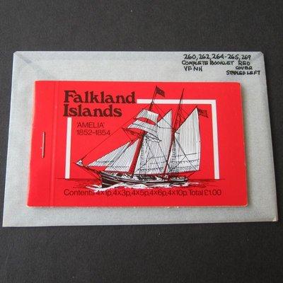 【雲品二】福克蘭群島Falkland Islands 1978 ship Booklet MNH #4 庫號#B301 47157
