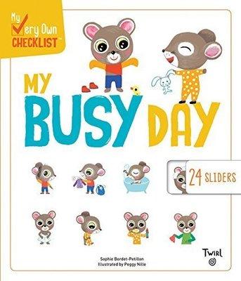 *小貝比的家*MY BUSY DAY /硬頁/3~6歲/操作拉拉書