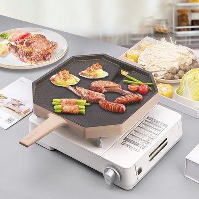 燒烤爐Dr.HOWS 韓國進口卡式爐燃氣便攜爐戶外防風野炊家用燒烤燃氣爐灶
