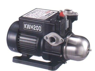 黑鷹KWH200熱水恆壓馬達,1/4馬力加壓泵浦(太陽能熱水器)-洗澡不會忽冷忽熱DIY