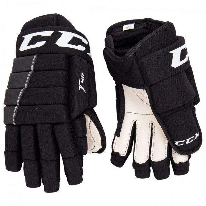 基本款曲棍球手套CCM Tacks 4R SR成人-13/14吋 最暢銷推薦基本款曲棍球手套 補貨到
