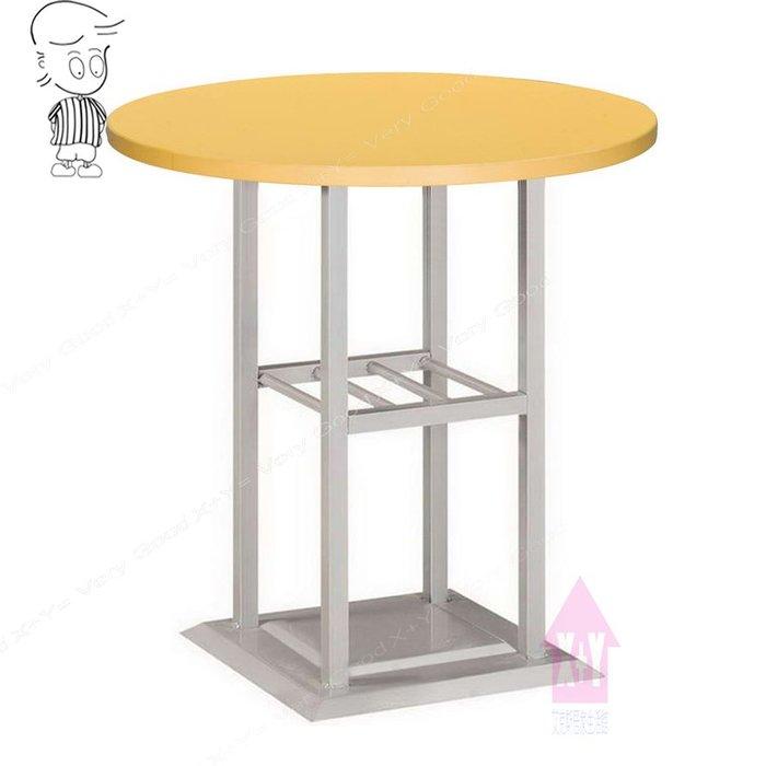 【X+Y時尚精品傢俱】現代餐桌椅系列-艾緹 2尺圓桌(712烤銀腳).餐桌.洽談桌.早餐桌.另有2.5尺.摩登家具