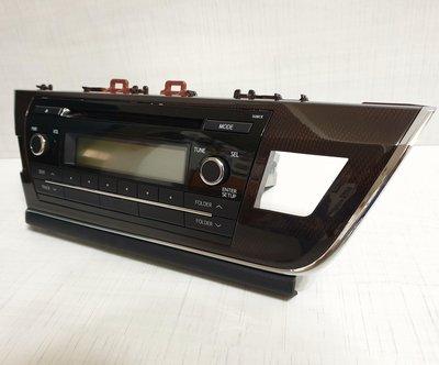汽車 CD音響主機 Panasonic CQ-JS74G3WW 台灣松下原廠 Toyota ALTIS 全新