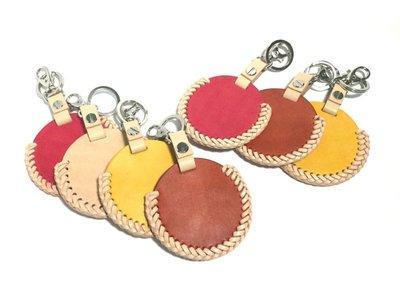 【IAN X EL】gogoro質感編織鑰匙圈 / 門卡包 / 感應器收納 提供免費印字 純手工皮件