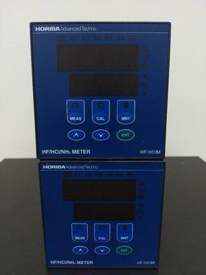TEL~HORIBA    HF-960M Concentration Monitor HF/HCI/NH3 METER