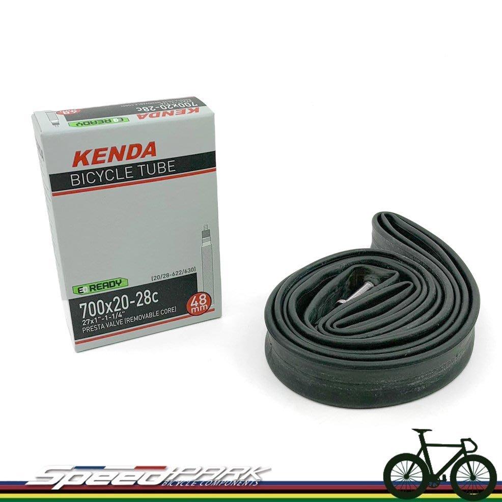 【速度公園】KENDA 建大 700X20/28C R/V 48L 自行車 法嘴內胎 可拆式氣嘴 E-READY 27