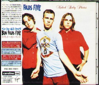 K - Ben Folds Five - Naked Baby Photos - 日版 - NEW