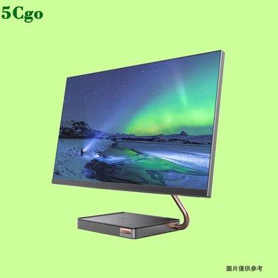 5Cgo【含稅】聯想AIO 520X四核R5-3400GE 23.8英吋一體機桌上型電腦遊戲設計4G獨顯2K超高清屏