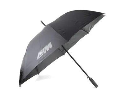 【樂駒】BMW M UMBRELLA 原廠 生活 精品 雨傘 直柄傘 長傘 直傘 自動傘 傘套 遮陽