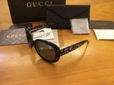 GUCCI polarized 太陽眼鏡 原價16800 9.9成新$8800免運