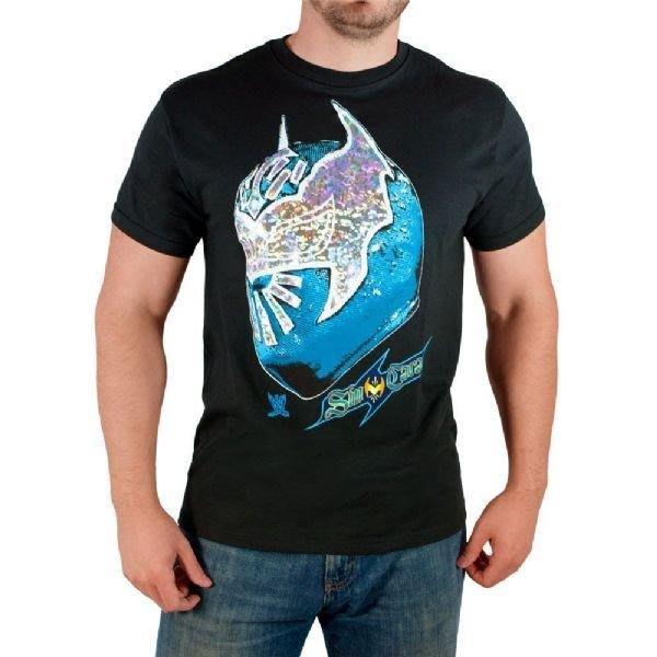 ☆阿Su倉庫☆WWE摔角 Sin Cara Faceless T-Shirt 面具圖騰 官方授權版經典款 出清特價中