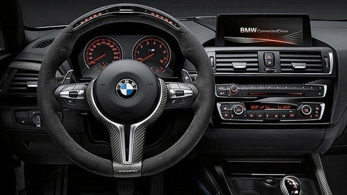 【樂駒】BMW 原廠 F87 M2 M Performance 電子 方向盤 升級 改裝 套件 系統 性能