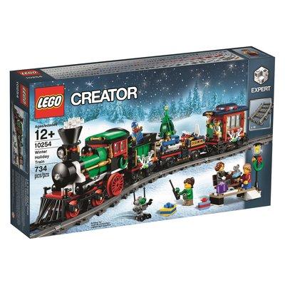 現貨免運【LEGO 樂高】全新正品 益智玩具 積木/ 冬季聖誕火車 Winter Holiday Train 10254