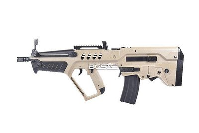 【WKT】RAVEN  CUIC007 TAR-21 ABS 電動槍 沙色-RECUIC007DE