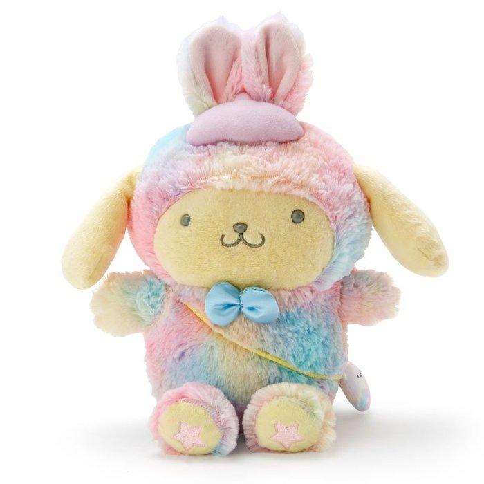 @雪花館@ 代購~正版布丁狗 ♥ 復活節系列 彩色兔玩偶娃娃
