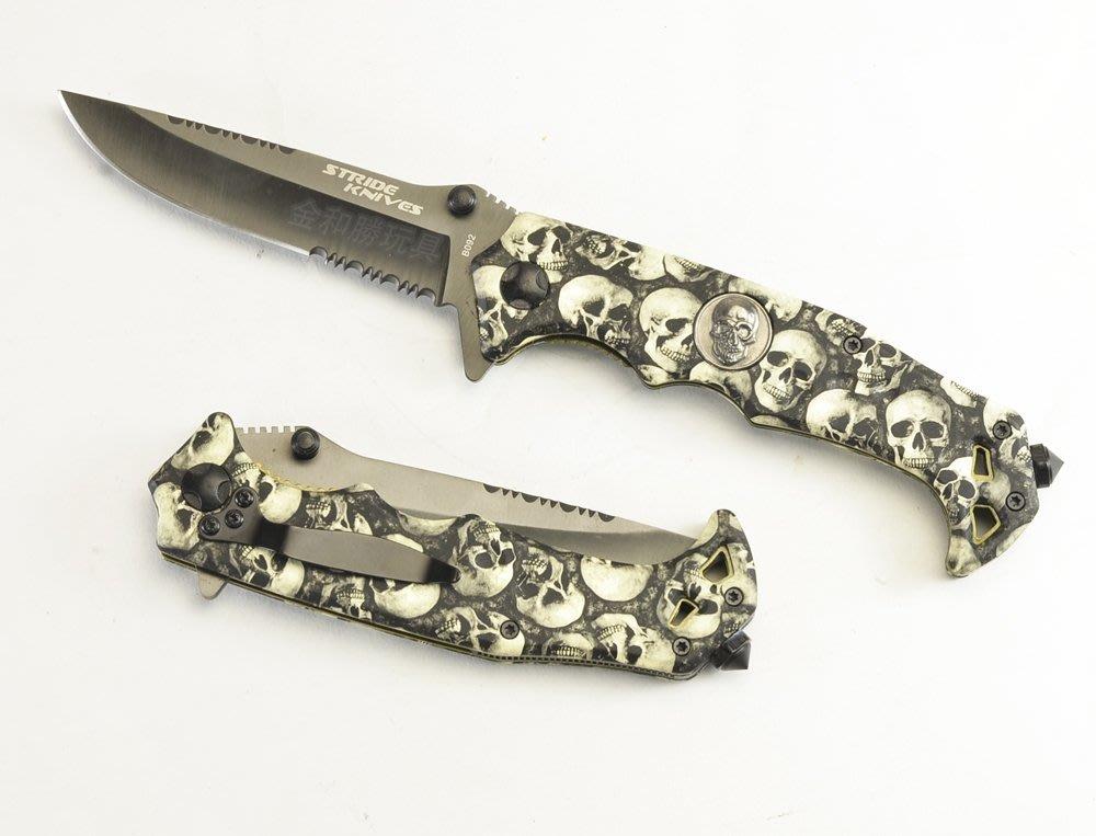 台中 彰化((金和勝))STRIDER KNIVES B092折刀 3552