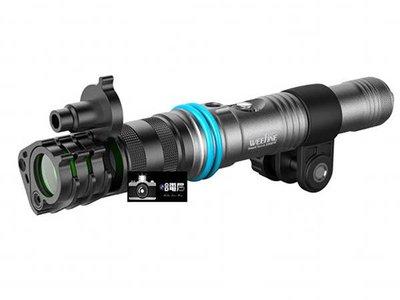 蘆洲(哈電屋) Weefine Smart Snoot 鋰電池手電筒潛水 近攝 聚光燈 18650 浮淺 耐腐蝕 水攝