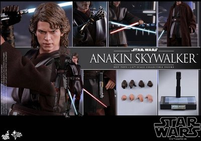 全新現貨 HT Hottoys Star Wars Anakin Skywalker MMS437