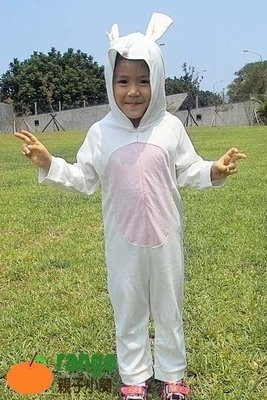 【orange親子小舖】兔寶寶造形服裝(秋)動物裝/萬聖節服裝造型/cosplay表演道具服80-130cm台灣製