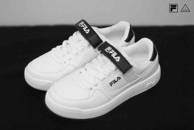 ISNEAKERS FILA FX-VELTRAP 魔鬼氈鞋帶 黑色 休閒運動鞋 FS1SIA1080X WBK