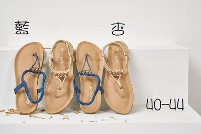 ☆(( 丫 丫 Sweety )) ☆。大尺碼女鞋。簡約氣質優雅設計涼鞋40-44(D592)下標時以即時庫存為主