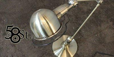 【58街燈飾-台中館】義大利設計師款式「French Horn 法國號 雙節 台燈」複刻版。GL-123