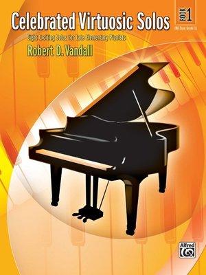 【599免運費】Celebrated Virtuosic Solos, Book 1  Alfred 00-27810