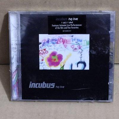 美版全新CD+DVD~《重擊合唱團》搖滾極致現場演唱會實況 Incubus HQ Live CD+DVD