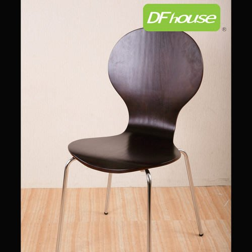 【You&Me】~DFhouse破盤促銷 曲木多功能活動用椅 堅固 電腦椅 辦公椅 洽談椅 餐桌椅 電鍍椅腳 台灣製造!