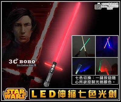 [免運費] STAR WARS 天行者的崛起 LED 二合一變頻七色聲光劍 電影周邊商品 芮絕地武士光劍 團購商品 玩具
