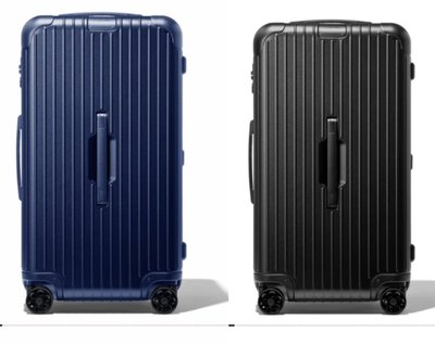 全新真品原廠公司貨 Rimowa Essential Trunk 中型運動行李箱 消光黑色 消光深藍 桃園市