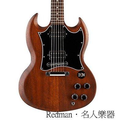 【名人樂器】Gibson SG Faded 2016 (Worn Brown) 電吉他---誠可議價