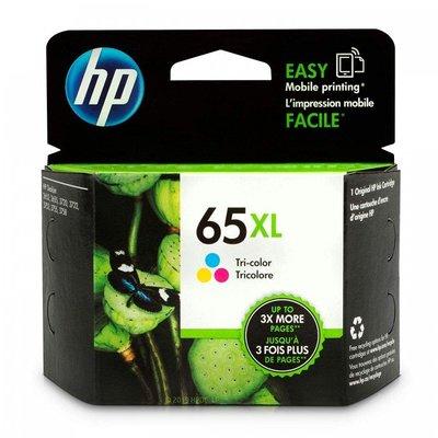 (墨水小舖)原廠墨水匣 HP 65XL N9K03AA 彩色 DeskJet 3720/3721/2621/2623