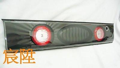 宸陞汽車精品 Toyota Corolla 93-97 黑框後中飾板 新北市