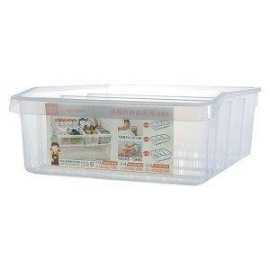 315-百貨~過年收納好幫手~ D70 D-70 (特大)冰箱收納盒(附隔板) /冰箱大改造 米麵魚乾肉乾肉鬆收納