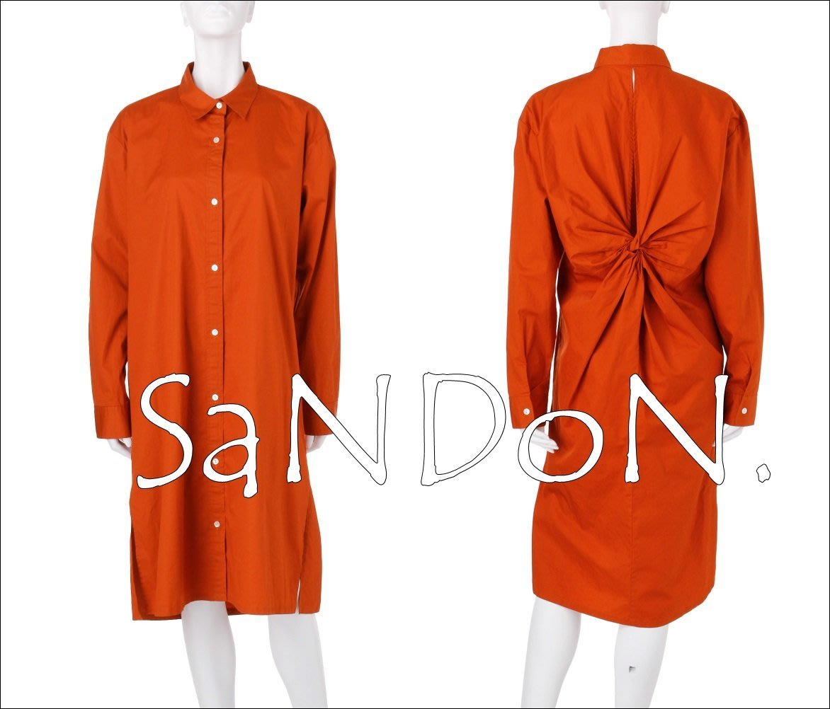 SaNDoN x『UNGRID』搶先官網入荷 綁帶蝴蝶結設計復古襯衫洋裝 OP SLY EMODA 170711