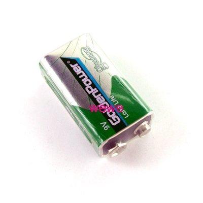 9V 乾電池6F22 無線麥克風/ 監視器/ 遙控玩具/ 電子樂器/ 煙霧偵測器/ 三用電表勾錶皆可 非1.5V充電鋰電池 台中市