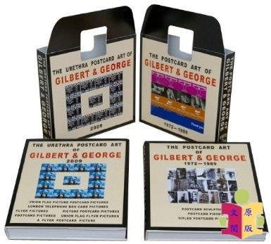 [文閲原版]【英文原版】The Complete Postcard Art of Gilbert George