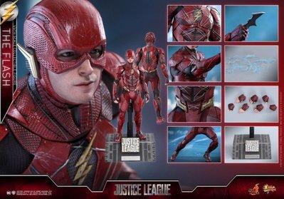 【全新現貨】1/6 Hot Toys Hottoys MMS448 Justice League The Flash 閃電俠 全新未開
