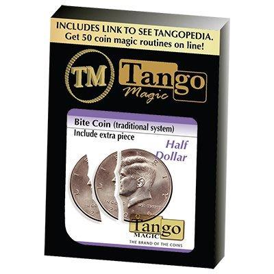 【天天魔法】【S793】正宗原廠美金五角咬幣~Bite Coin With Extra Piece by Tango