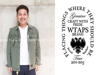 W)TAPS WTAPS BUDS L/S / SHIRTS. COTTON. SATIN  貼布襯衫 全新現貨