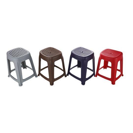 47CM花園止滑椅RC668-1/RC668-2/RC668-3/RC668-4/椅子/凳子/板凳/塑膠椅/休閒椅/餐椅