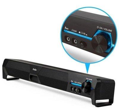 ≈多元化≈附發票 aibo LA101 USB家庭劇院 單件式雙聲道立體聲喇叭 la-101 可萊爾富取貨(需拆外盒再裝箱寄