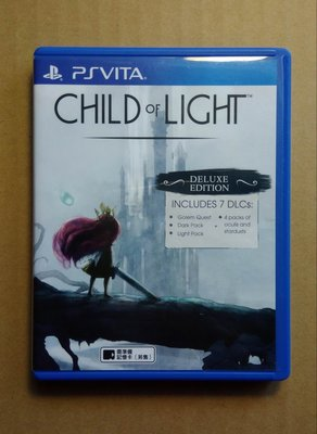 PSV 光明之子 (CHILD of LIGHT Deluxe Edition) 繁體中文版 二手品